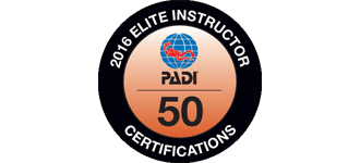 PADI Elite Instructor 2016 díjat kaptunk